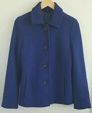 Clearance Shop For Womens Wool Blend Peacoat - 14-16 Lands End Prices For Sale Clearance Purchase unB9v4