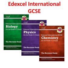 Edexcel International Grade 9-1 GCSE Science Revision Guide with Answer 3 Books