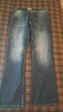 mens Wrangler 20X Style 42 Vintage Boot jeans dark wash size 38x34 excellent