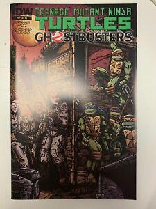 IDW TEENAGE MUTANT NINJA TURTLES/GHOSTBUSTERS #1 RI COVER : NM CONDITION