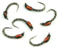 Black Quill, Buzzers, Still Water, Lake, Barbless, Flies, Rainbow, Brown Trout,