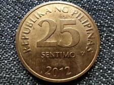 Philippines 25 Sentimo Coin 2012