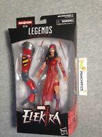 MARVEL LEGENDS SPIDER-MAN ELEKTRA SP//DR BAF WAVE IN HAND!