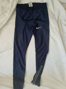 Nike Pro Elite 2017  Power Speed  Long Tights Size medium  Track and Field Rare
