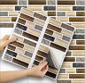 "Stick On Tile Transfer Stickers 6""x6"" Stick Mosaic for Kitchen & Bathroom tiles"