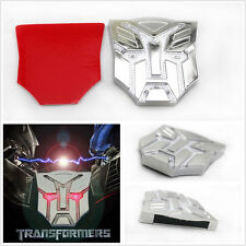 Autobots Transformers Frames Emblem Badge Solar Power Flash Strobe car LED Light