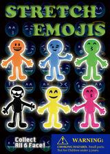 250 pcs Vending Machine $0.25/$0.50 Capsule Toys - Stretch Emojis