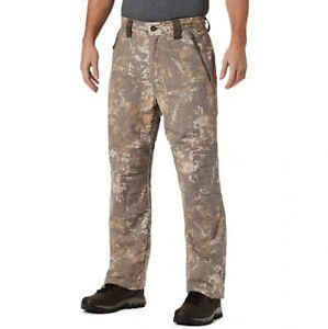 Columbia PHG Gallatin Lite Wool Blend Camo Pants XL 38x34 Timberwolf Digital