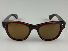 Oliver Peoples OV5205 1053 Parsons Whine Red W/Yellow Lens [48-18-145]