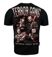 Mens Koszulka T-shirt Pit Bull Octagon Polska Poland KSW MMA Terror Gang Horror
