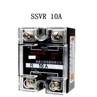 220V AC Single Phase SSVR 10A Solid State Voltage Regulator Relay
