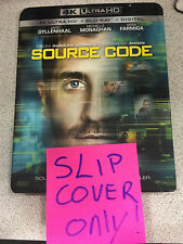 Source Code -NO MOVIE- 4K OUTER Slip Cover!