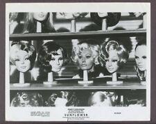 Sophia Loren 1970 Sunflower Great Whimsical Pic Hair Wigs Original Photo J5075