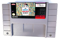 The Great Waldo Search SUPER NINTENDO SNES GAME Tested ++ WORKING ++ AUTHENTIC!