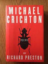 """Micro"" by Michael Crichton, Hardcover"