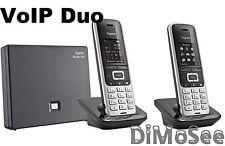 ►► Gigaset S850A Go m. AB / IP + 2. Mobilteil S850H Duo VoIP ◄◄