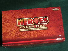 Corgi 1/50 Heroes Under Fire Chicago 7th Battalion Engine 18 Painted Figures NEW
