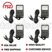 4 For Super Nintendo SNES Video Game System AC Adapter Power Cable Cord