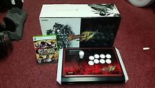 Street Fighter 4 arcade stick Rare Bat Top and Game For Xbox 360 / PC