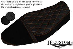 DSG3 TAN ST SUEDE & GRIP VINYL CUSTOM FITS YAMAHA XSR 700 15-20 SEAT COVER