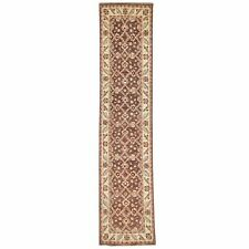 Hand-Knotted Floral Design Traditional Handmade Wool Rug 2.5 X 10.4 Cwral-2856