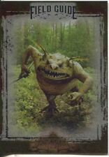 The Spiderwick Chronicles Unreleased Field Guide Chase Card SC-3