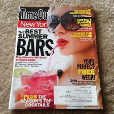 """Time Out New York """"The Best Summer Bars"""" June 17-23, 2010"""