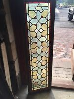 Sg 813 Two Available Priced Separate Antique Stainglass Transom Window