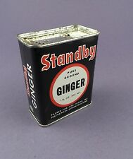Stanby Pure Ground Ginger Vintage Spice Tin from Unused Stock