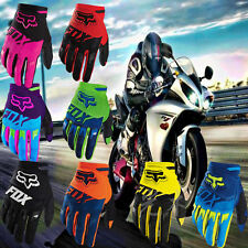 Multi-color FOX Motorcycle Racing Pro-Biker Cycling Durable Windproof MTB Gloves