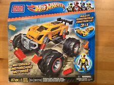 Mega Bloks Hot Wheels Super Blitzen Monster Truck *NEW-SEALED*