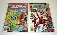 DAREDEVIL #138, 139 Marvel Comics Lot Run of 2 VG/FN-VF+ 1976