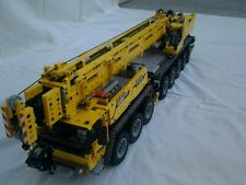 Building Instruction 42009 8 Axis Car Crane Self-Made Unique MOC Lego Technic