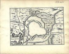 Antique map, Mostrevil (?)