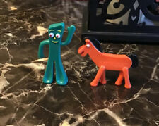 Playskool Action Figure Pocket Size Gumby and Pokey Collectible 1989 Vtg Toys