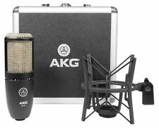 AKG P220 Studio Condenser Microphone Recording Mic+Shockmount+Carry Case