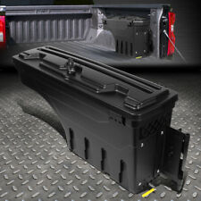 FOR 02-18 DODGE RAM 1500 2500 3500 TRUCK WHEEL WELL STORAGE TOOL BOX +LOCK RIGHT