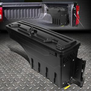 FOR 02-18 DODGE RAM 1500 2500 3500 TRUCK WHEEL WELL STORAGE TOOL BOX +LOCK RIGHT