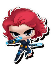 Black Widow Chibi Funky Chunky Magnet Marvel Comics Heroes Avengers Assemble New