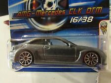 Hot Wheels AMG-Mercedes CLK DTM #016 2006 First Editions Gray
