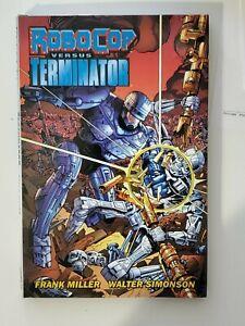 Robocop vs Terminator Hardcover Dark Horse Comics Frank Miller Walter Simonson