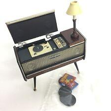 Time Slip Glico Miniature National He-3000 Record Player Stereo Kaiyodo Japan