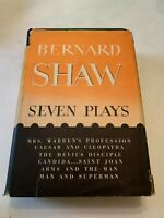 1951 Seven Plays By Bernard Shaw Hardcover With Dust Jacket