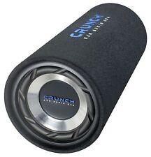 """Crunch GTS 200 20 cm 8"""" Bassrolle Bassreflex 400 Watt *UVP 79,- Subwoofer"""