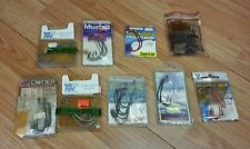 Mixed Lot Of 76 Multi Brand / Various Size Fishing Hooks *Read*