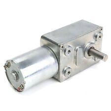 Reversible High torque Turbo Worm Gear Motor JGY370 DC 12V 10RPM