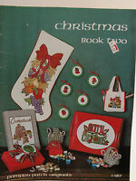 """Christmas Book Two"" Cross Stitch Pattern Leaflet Pumpkin Patch Originals"