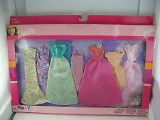 Barbie Doll Fashion Avenue Evening Prom Gown Set Lot of 7 2003 68214  NEW NIP