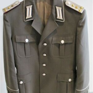 DDR EAST GERMAN STASI SECRET POLICE HIGH RANKING OFFICER UNIFORM TUNIC