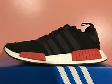 Adidas NMD R1 Bred (Black, Red, White) BB1969 Men's Size 11.5 VnDS NIB